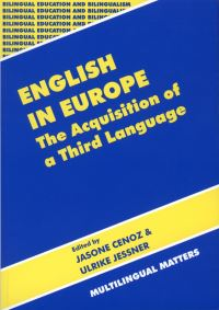 Jacket Image For: English in Europe