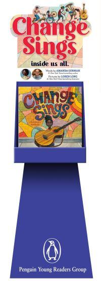 Jacket Image For: Change Sings 12-copy Floor Display w/ Riser
