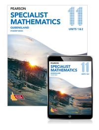 Jacket Image For: Pearson Specialist Mathematics Queensland 11 Student Book with eBook
