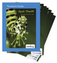 Jacket Image For: Mathology Little Books - Number: Spot Check! (6 Pack with Teacher's Guide)