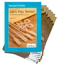 Jacket Image For: Mathology Little Books - Number: Let's Play Waltes! (6 Pack with Teacher's Guide)