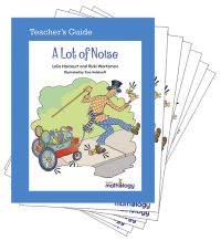 Jacket Image For: Mathology Little Books - Patterns and Algebra: A Lot of Noise (6 Pack with Teacher's Guide)