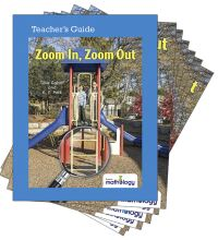 Jacket Image For: Mathology Little Books - Geometry: Zoom In, Zoom Out (6 Pack with Teacher's Guide)