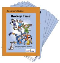 Jacket Image For: Mathology Little Books - Number: Hockey Time! (6 Pack with Teacher's Guide)