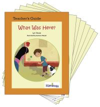 Jacket Image For: Mathology Little Books - Geometry: What Was Here? (6 Pack with Teacher's Guide)