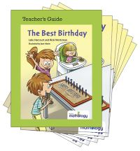 Jacket Image For: Mathology Little Books - Number: The Best Birthday (6 Pack with Teacher's Guide)