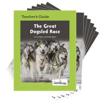 Jacket Image For: Mathology Little Books - Number: The Great Dogsled Race (6 Pack with Teacher's Guide)