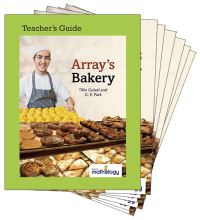 Jacket Image For: Mathology Little Books - Number: Array's Bakery (6 Pack with Teacher's Guide)