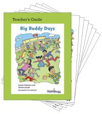 Jacket Image For: Mathology Little Books - Data Management and Probability: Big Buddy Days (6 Pack with Teacher's Guide)