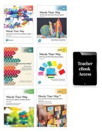 Jacket Image For: Words Their Way Whole School Resource Pack