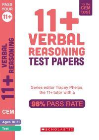 Jacket Image For: 11+ Verbal Reasoning Tests Ages 10-11