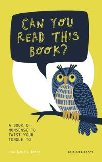 Jacket Image For: Can you read this book?