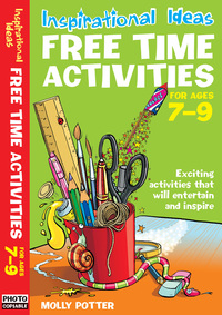Jacket image for Free time activities. For ages 7-9