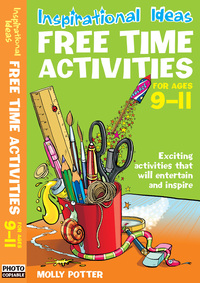 Jacket image for Free time activities. For ages 9-11