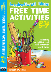 Jacket image for Free time activities. For ages 5-7
