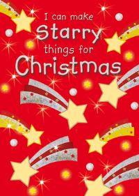 Jacket image for I Can Make Starry Things for Christmas