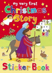 Jacket image for My Very First Christmas Story Sticker Book