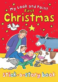 Jacket image for My Look and Point First Christmas Stick-a-Story Book