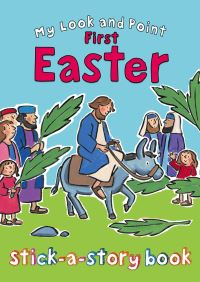 Jacket image for My Look and Point First Easter Stick-a-Story Book