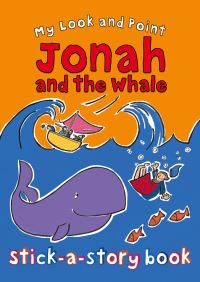 Jacket image for My Look and Point Jonah and the Whale Stick-a-Story Book