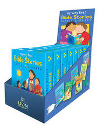 Jacket image for My Very First Bible Stories Little Library Counterpack filled