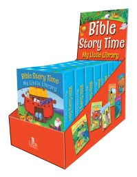 Jacket image for Bible Story Time My Little Library mini box of 10 EIGHT pk