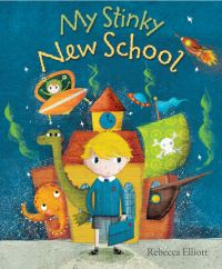 Jacket image for My Stinky New School