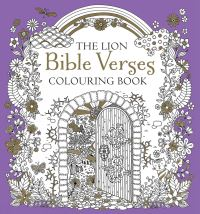 Jacket image for The Lion Bible Verses Colouring Book