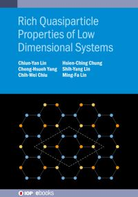 Jacket image for Rich Quasiparticle Properties of Low Dimensional Systems