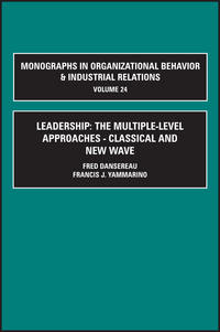 Jacket image for Leadership: The Multiple-Level Approaches