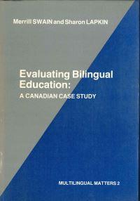 Jacket Image For: Evaluating Bilingual Education