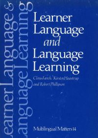 Jacket Image For: Learner Language and Language Learning