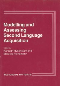 Jacket Image For: Modelling and Assessing Second Language Acquisition