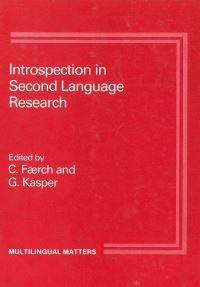 Jacket Image For: Introspection in 2nd Language Research