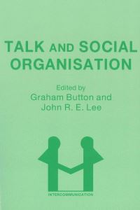 Jacket Image For: Talk and Social Organisation