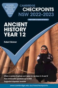 Jacket Image For: Cambridge Checkpoints NSW Ancient History Year 12 2022-2023