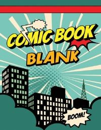 Jacket Image For: Blank Comic Book