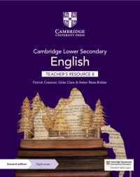 Jacket Image For: Cambridge lower secondary English. 8 Teacher's resource