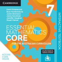 Jacket Image For: Essential Mathematics CORE for the Australian Curriculum Year 7 Digital Code