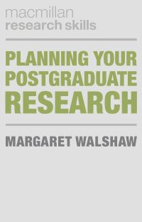 Jacket image for Planning Your Postgraduate Research