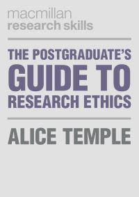 Jacket image for The Postgraduate's Guide to Research Ethics