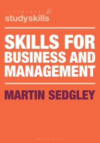 Jacket image for Skills for Business and Management