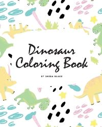 Jacket Image For: Dinosaur Coloring Book for Children (8x10 Coloring Book / Activity Book)