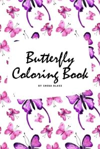 Jacket Image For: Butterfly Coloring Book for Children (6x9 Coloring Book / Activity Book)