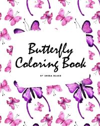 Jacket Image For: Butterfly Coloring Book for Children (8x10 Coloring Book / Activity Book)