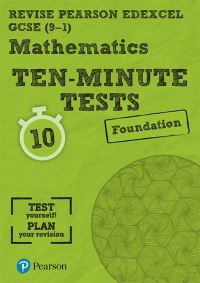 Jacket Image For: Maths ten-minute tests. Foundation