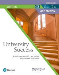 Jacket Image For: University Success GCC Intermediate Writing Student Book & Student MyEnglishLab