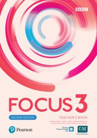 Jacket Image For: Focus 2e 3 Teacher's Book with PEP Pack