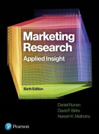 Jacket Image For: Marketing Research