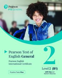 Jacket Image For: Practice Tests Plus PTE General B1 Paper based with Key App & PEP Pack
